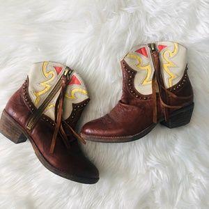 Sam Edelman | Size 6 SHANE Cowboy Booties